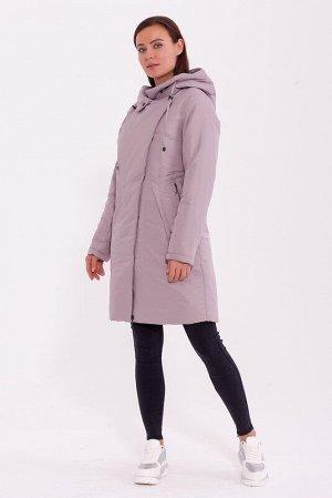 Пальто Описание: Тёплое пальто в спортивном стиле с капюшоном, асимметричной застёжкой молнией и кнопках. Интересные футуристичные карманы подчёркивают стиль. Цвет: Светлый какао.  Состав: Полиэстер 7