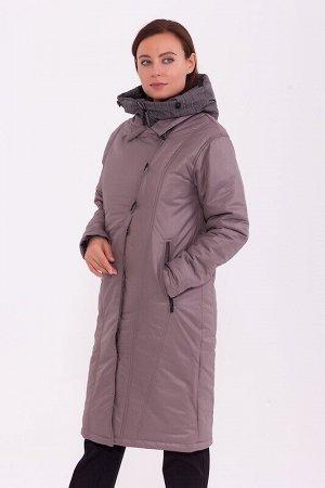 Пальто Описание: Элегантное, женственное пальто - трансформер свободного кроя. Оригинальность этого пальто в том, что приобретая его, Вы получаете не одно, а сразу два пальто. Первое-с капюшоном, мани