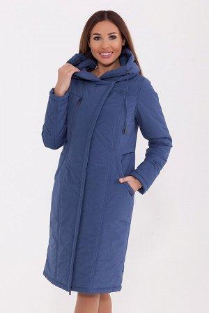Пальто Описание: Уютное пальто с интересными карманами согреет Вас холодной сырой осенью и в зимние дни. Пальто полуприлегающего силуэта с капюшоном, затягивающимся на кулиску, лёгкая асимметрия застё