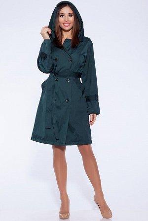 Плащ Описание: Классический плащ-тренч всегда актуален, существует вне времени и модных тенденций и сочетается с любой одеждой.Для этой модели используется легкая мембранная ткань, застежка двубортная