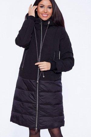 Пуховик Описание: Молния по центру пальто является ярким и функциональным декором. Симметрию изделию добавляют карманы, расположенные в районе талии. Объемный воротник можно трансформировать по своему
