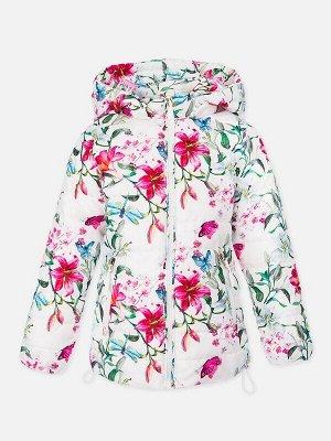 Куртка Описание: Куртка демисезонная со следующими характеристиками:  • материал с ветро- и водоотталкивающим покрытием  • гладкая подкладка из полиэстера • съемный капюшон на молнии, регулируемый с п