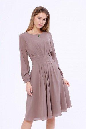 Платье Цвет: Капучино.  Состав: Полиэстер 100