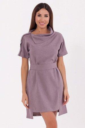 Платье Цвет: Капучино.  Состав: Хлопок 50%, Полиэстер 50