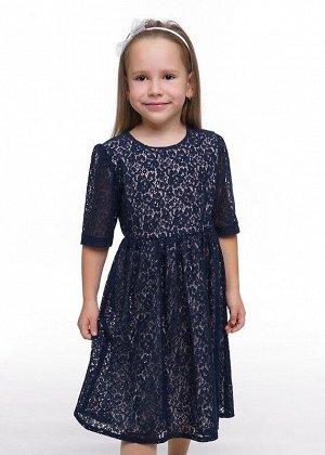 Платье Цвет: т.фиолетовый.  Состав: 70%Хлопок30%Нейлон. Сезон: Осень, Зима, Весна
