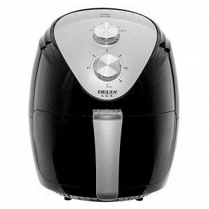 Мультипечь электрическая 1500 Вт, 2,5 л LUX DE-6101 черная