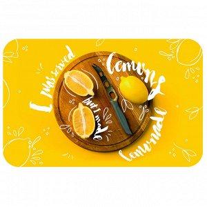 Салфетка сервировочная ПВХ 26х41см Лимоны