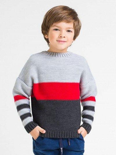 Наш Любимый Трикотаж-49 Лучшие ТМ Crockid Cherubino Свитанак — Джемперы, кофты Мальчики — Пуловеры, джемперы