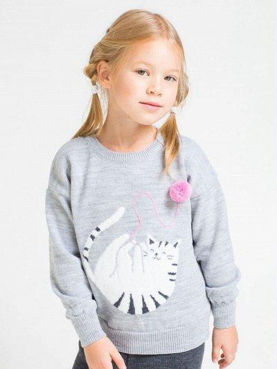 Наш Любимый Трикотаж-49 Лучшие ТМ Crockid Cherubino Свитанак — Джемперы, кофты Девочки — Пуловеры и джемперы