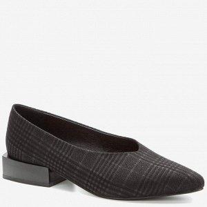 908042/01-04 черный иск.нубук женские туфли