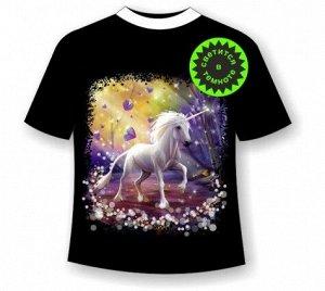 Детская футболка Единорог NN 4