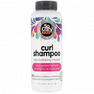 SoCozy, Kids, Curl Shampoo, шампунь для детей, ультраувлажнение и очищение, 311 мл (10,5 жидк. унции)