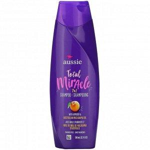 Aussie, Total Miracle, 7 n 1 Shampoo, Apricot & Australian Macadamia Oil, 12.1 fl oz (360 ml)