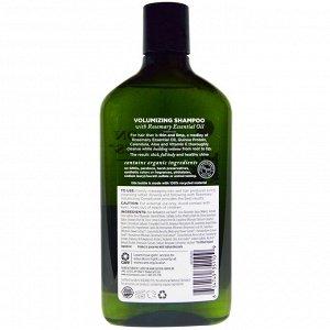 Avalon Organics, Шампунь для объема, розмарин, 325 мл (11 жидких унций)