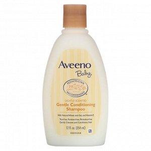 Aveeno, Baby, мягкий шампунь с кондиционером, с легким ароматом, 354 мл (12 жидких унций)