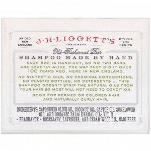 J.R. Liggett&#x27 - s, Old Fashioned Shampoo Bar, Herbal Formula, 3.5 oz (99 g)