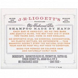 J.R. Liggett&#x27 - s, Твердый шампунь в старом стиле, кокосовое и аргановое масло, 99 г (3,5 унции)