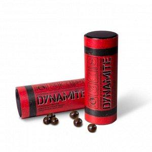 Динамит Вкусные и хрустящие кофейные зерна в молочном шоколаде для бодрости духа.