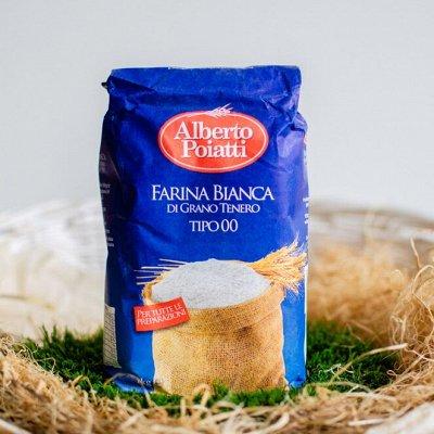 Alberto Poiatti - Итальянские блюда на Вашем столе! — Мука  Alberto Poiatti  Италия (Сицилия) — Мука, смеси и дрожжи