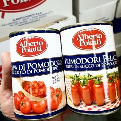 Alberto Poiatti - Итальянские блюда на Вашем столе! Новинки! — Консервы Томатные Alberto Poiatti  Италия (Сицилия) — Овощные и грибные
