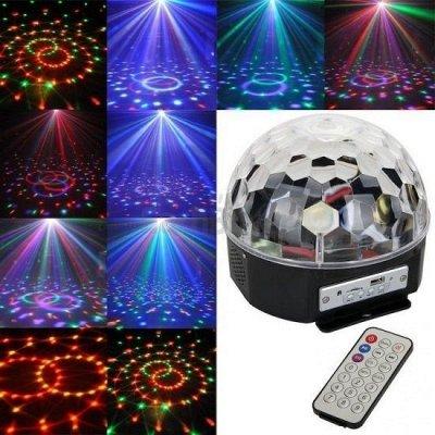 Скоро, скоро Новый год. Всё для праздника, игрушки, сувениры — Шар со светомузыкой  — Все для Нового года