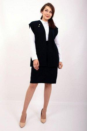 1063 костюм женский, 24 (Синий)