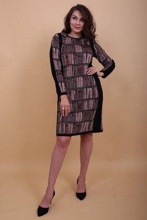 055 платье женское, 11 (Черный)