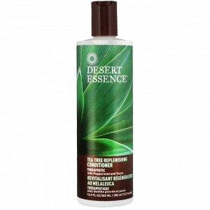 Desert Essence, Восстанавливающий кондиционер с экстрактом чайного дерева, 12,9 жидких унций (382 мл)