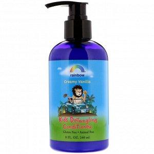 Rainbow Research, Детский кондиционер для распутывания волос с ароматом сливок и ванили, 240 мл (8 жидких унций)