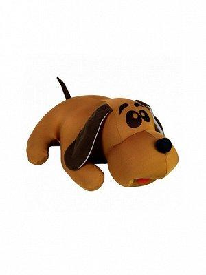 """Антистрессовая игрушка """"Собака Джой"""" малая (коричневая)"""
