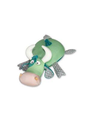 """Антистрессовая игрушка """"Бык Горошек"""",зеленый"""