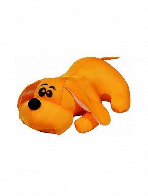 """Антистрессовая игрушка """"Собака Джой"""" большая (оранжевый)"""