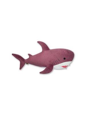 """Антистрессовая игрушка """"Акула"""",темно-розовый"""
