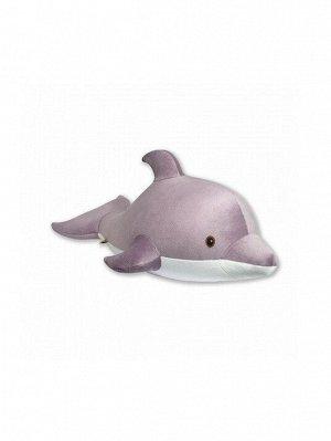 """Антистрессовая игрушка """"Дельфин"""", бордовый"""