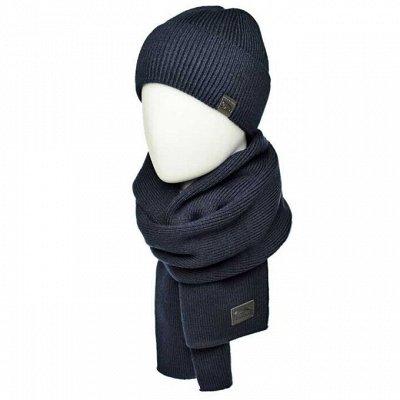 Шапки-варежки-зонты-шарфы для всей семьи - 67  — Комплекты мужские — Головные уборы