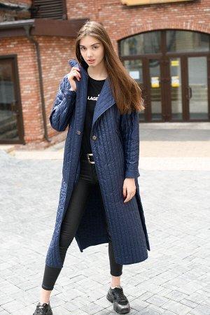 """Пальто """"Dark blue"""""""