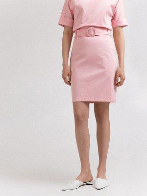 Классная розовая юбка на 44 р