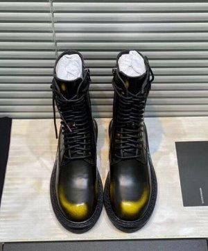 Ботинки Нат.кожа