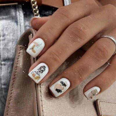 Новинки в Дизайне 🌸 Слайдеры - Маникюр и Педикюр  — Новинки ОСЕНЬ — Дизайн ногтей