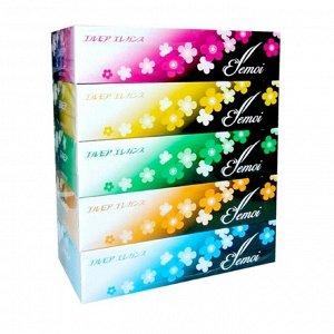 Бумажные салфетки Kami Shodji Ellemoi Elegance, 5 уп. по 200 шт.