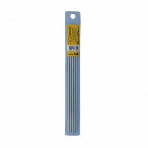 Спицы для вязания 5-ти комплектные металл 20см d3,75