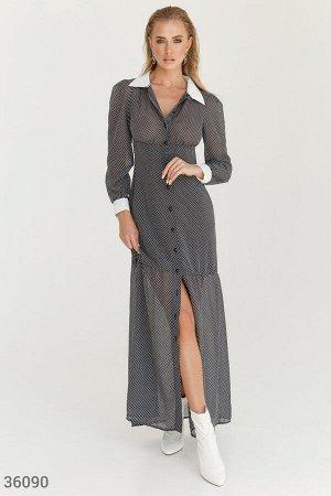 Платье в рубашечном стиле