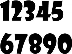 Цифры Габариты: 2 x 6 cm; Размер (в см): 10х16, 2-6, 5х10, 8-14; Цвет: Черный, Белый, Красный, Коричневый, Бежевый, Бордовый, Голубой, Желтый, Зеленый, Оранжевый, Розовый, Серый, Синий, Сиреневый, Фио