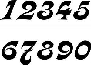 Цифры. Вариант 3