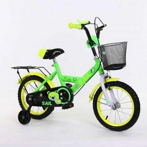 Велосипед детский 2-х колесный SAIL 12 д. HD-026 (1/2) зеленый