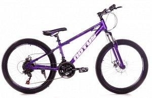 """Велосипед NOTUS 2-х колесный 24"""" (21скорость) FX220 фиолетовый"""