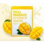 Увлажняющая маска для лица с экстрактом манго Real Mango Essence Mask