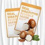 Тканевая маска с маслом ши Real Shea Butter Essence Mask