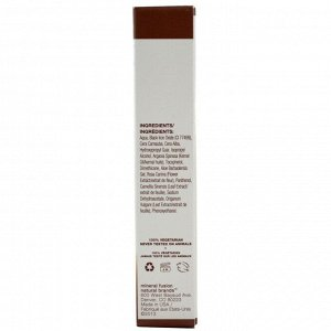 Mineral Fusion, Краска для скрывания седины у корней, средне-коричневая, 0.28 унций (8 г)
