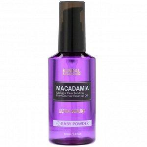 Kundal, Macadamia, Ultra Serum, Baby Powder, 3.4 fl oz (100 ml)
